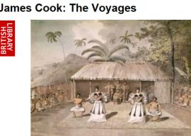 British Library's Cook: The Voyages Exhibit