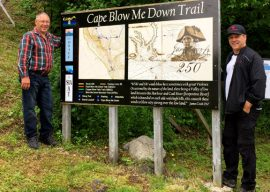 "Cape ""Blow Me Down"" Trail"