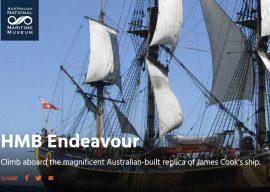 Take a Tour of HMB Endeavour